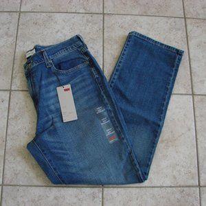 Levi's 505 Straight Leg High Rise Denim Jeans NWT